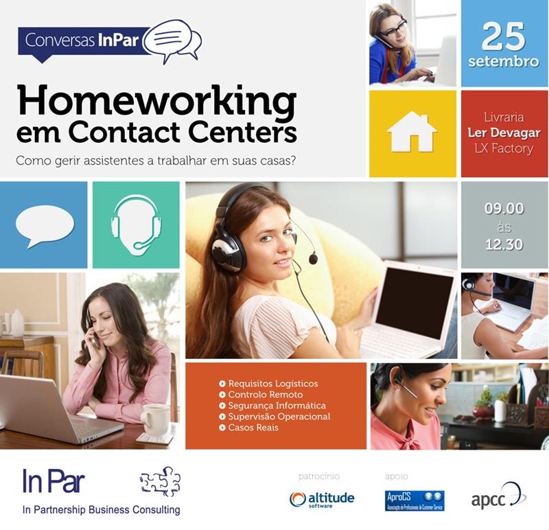 Homeworking em Contact Centers