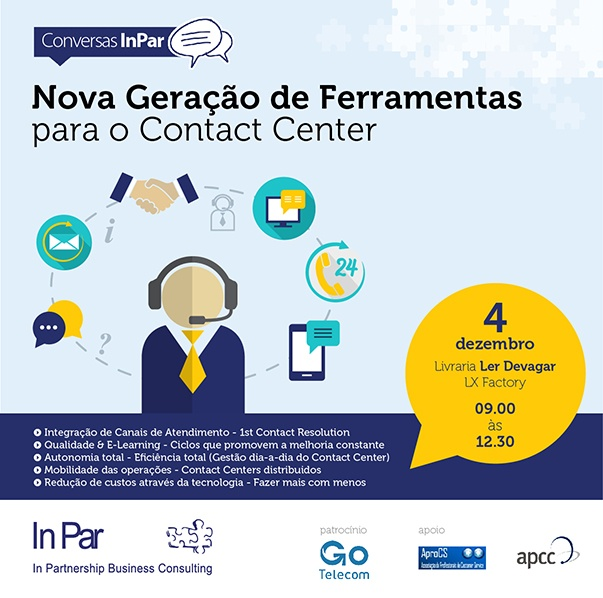 Ferramentas para Contact Center