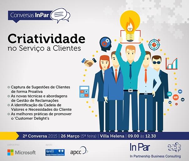 Criatividade no Serviço a Clientes