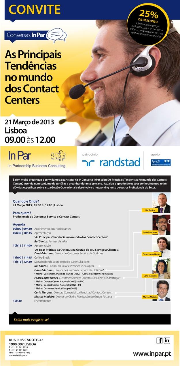 2013.02.19 - Convite para a 1ª Conversa InPar