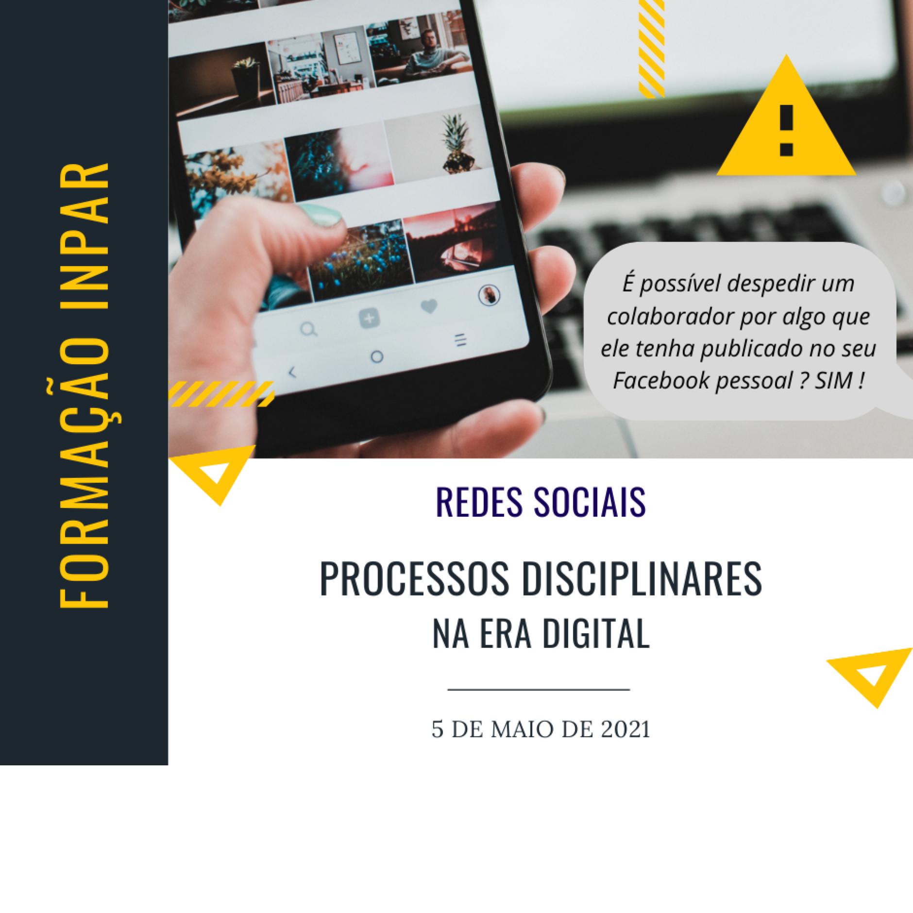 Processos Disciplinares na Era Digital