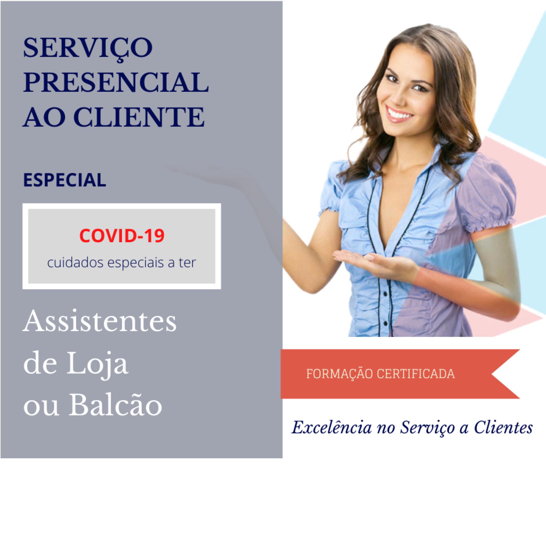 Serviço Presencial vs COVID-19