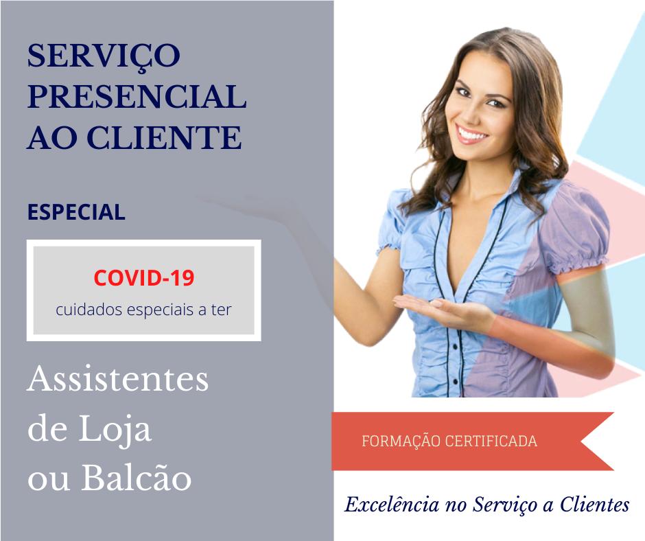 Serviço Presencial vs COVID-19 1