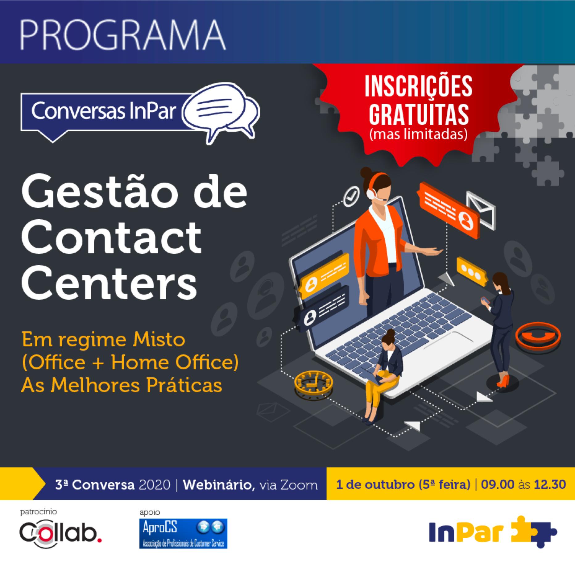 Gestão de Contact Centers